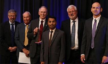 SEI's Douglass Post Honored with 2017 NDIA Ferguson Award