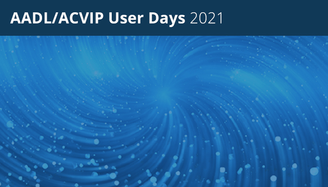 SEI Releases AADL/ACVIP User Days 2021 Videos and Presentations